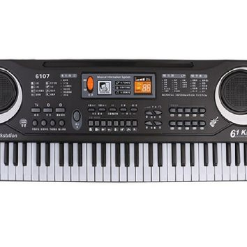 New Multifunctional 61 Keys Digital Electronic Keyboard Piano