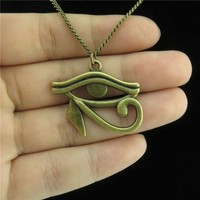 Egyptian Eye of Horus Ra Amulet