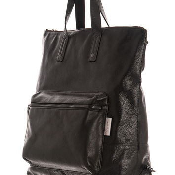 Venice-Large Leather Backpack/Briefcase