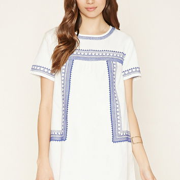 Contemporary Embroidered Dress | Forever 21 - 2000178041