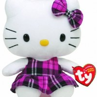 Ty Beanie Baby Hello Kitty Tartan