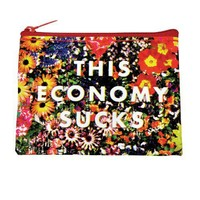This Economy Sucks Coin Purse - Whimsical & Unique Gift Ideas for the Coolest Gift Givers