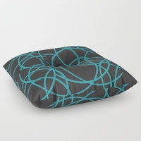 Tandem Floor Pillow by DAVID DARCY