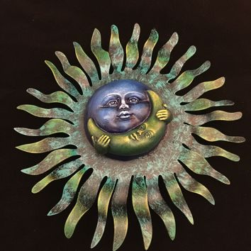 Metal Sun and Moon
