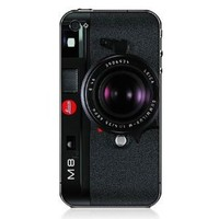Camera iPhone 4 / 4S Printing Case - M8