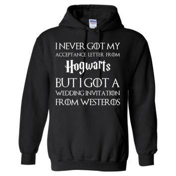 Best hogwarts acceptance letter products on wanelo for I never got my acceptance letter from hogwarts hoodie