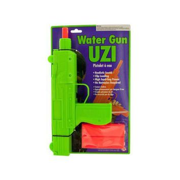 Water Gun Uzi ( Case of 12 )