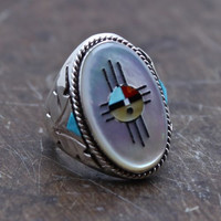 Third Stone from the Sun Navajo Ring
