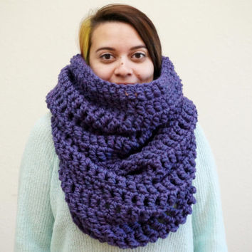 Shop Crochet Hooded Cowl On Wanelo