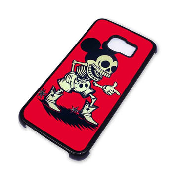 MICKEY MOUSE ZOMBIE Disney Samsung Galaxy S6 Edge Case