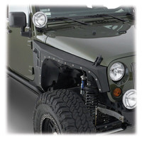 Jeep® Fender Flares - Smittybilt® - SB 76880 - Smittybilt® XRC Armor Front Fenders for 07-up Jeep® Wrangler & Wrangler Unlimited JK and other Jeep Wrangler Parts, Jeep Accessories and Soft Tops by FORTEC