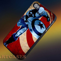 Captain American Quote iphone 4/4s case, iphone 5/5s,iphone 5c, samsung s3 i9300 case, samsung s4 i9500 case in SmartCasesStore.