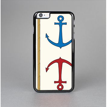 The Scratched Vintage Red Anchor Skin-Sert Case for the Apple iPhone 6