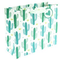 Cactus Print Medium Gift Bag