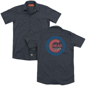 Cheap Trick - Cheap Cub (Back Print) Adult Work Shirt