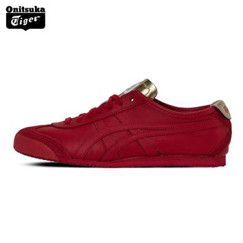 2017 ONITSUKA TIGER MEXICO 66 Men's Shoes Breathable Leather Woman Sport Shoes Sneakers Lightwei Trainers Athletic Shoes D7C3L