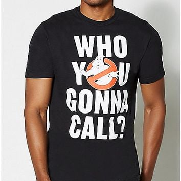 Who You Gonna Call Ghostbusters T Shirt - Spencer's