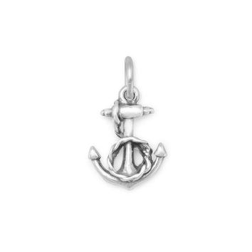 Anchor and Rope Charm