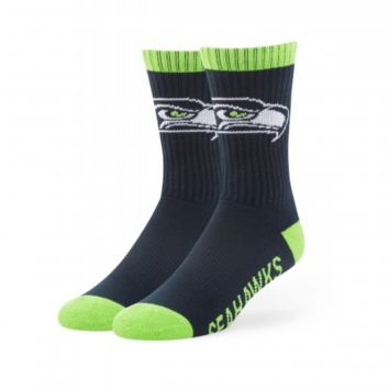 Seattle Seahawks Bolt Socks By '47 Brand