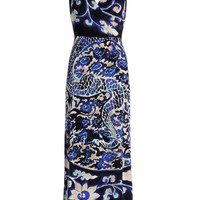 NIC+ZOE - Mysterious Night Dress - Mysterious Night Multi (blue And White)
