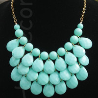 Teardrop necklace (several colors available)