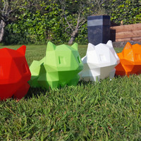 Biggest sizes and next day shipping - Pokemon Inspired Bulbasaur Planter 3D Printed