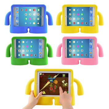 For Apple iPad Pro 9.7 case for iPad Pro 9.7 Tablet Stand case Shockproof Children Kids Handle EVA Foam Case Cover Fundas Coque