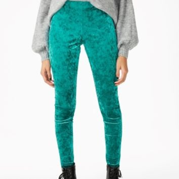 Monki | View all new | Velvet leggings