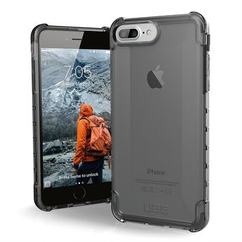 UAG iPhone 8 Plus / iPhone 7 Plus / iPhone 6s Plus [5.5-inch screen] Plyo Feather-Light Rugged [ASH] Military Drop Tested iPhone Case