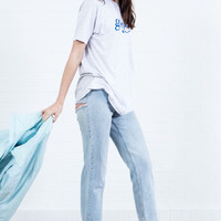Slits Denim Jeans By Sorella