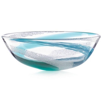Lenox® Seaview Bubble Swirl Crystal Bowl