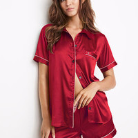 Afterhours Satin Boxer PJ Set - Victoria's Secret