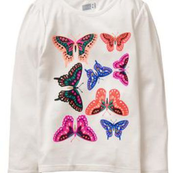 Sparkle Butterfly Tee