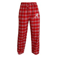 College Concepts Alabama Crimson Tide Acclaim Flannel Pants - Men