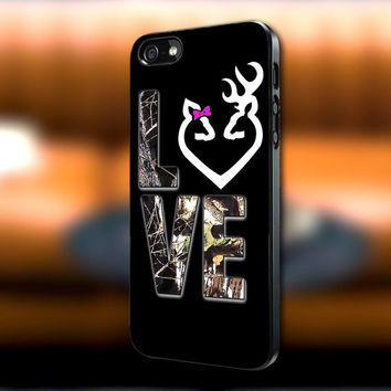 Love Browning Deer Camo iPhone case, Love Browning Deer Camo Samsung Galaxy s3/s4 case, iPhone 4/4s case, iPhone 5 case