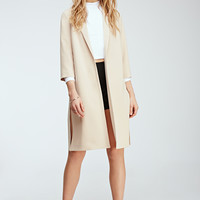 High-Slit Longline Jacket