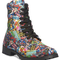 Marvel™ Combat Boots | Wet Seal