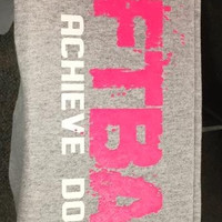 SOFTBALL - BELIEVE ACHIEVE DOMINATE Sweatpants