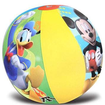 Mickey Mouse Single Beach Ball Ideal Party Favors for Birthday-brand New in Package!