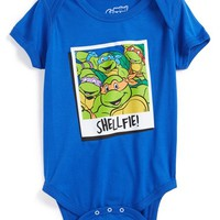 Infant Boy's Mighty Fine 'Teenage Mutant Ninja Turtles - Shellfie' Bodysuit