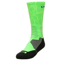 Men's Nike Lebron Hyper Elite Basketball Crew Socks - Large | Finish Line