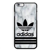 Best Seller Adidas. White Marble iPhone 7 and 7+ Hard Plastic Cover Case