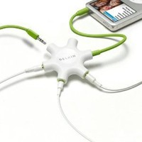 Belkin Rockstar Multi Headphone Splitter: Electronics