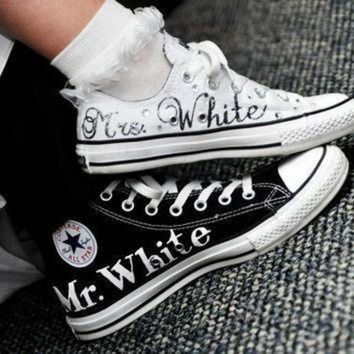 DCCK8NT made to order wedding converse