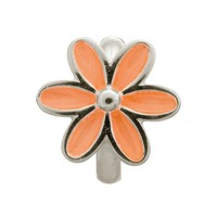 Endless Jewelry - Enamel Flower Silver Charm (Various Colors)