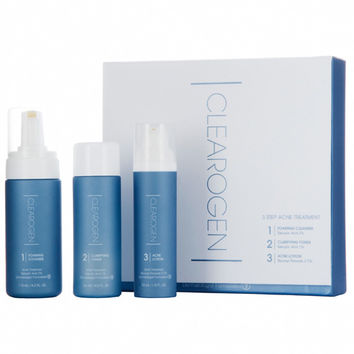 Clearogen 3-Step Acne Treatment Set - Benzoyl Peroxide - DermStore
