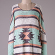 Ivory and Mint Tunic
