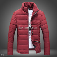 NEW Winter clothing Thickening cotton-padded jacket men coat Male favors warm coat men jacket 4 color
