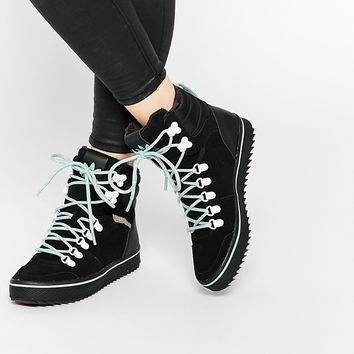 adidas Originals Honey Hill Black Hiker High Top Trainers