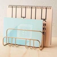 Brass Letter Holder